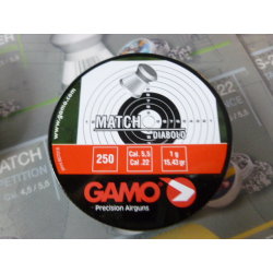 BALINES GAMO MATCH 5.5
