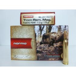 NORMA 7MMRM PLASTIC 170g
