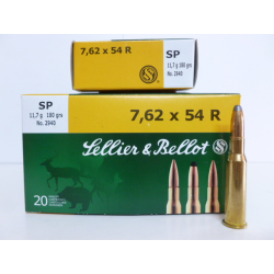 SELLIER&BELLOT 7,62X54R SP 180g