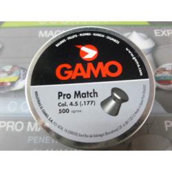 BALINES GAMO PRO MATCH 4.5