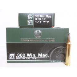 RWS 300WM SPEED TIP 165g